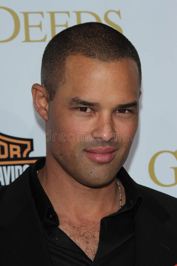 Jason Olive. At Tyler Perry's Good Deeds Los Angeles Premiere, Regal Cinemas, Los Angeles, CA 02-14-12 royalty free stock images