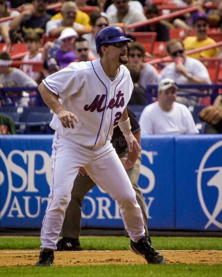 Jason Phillips, New York Mets foto de archivo
