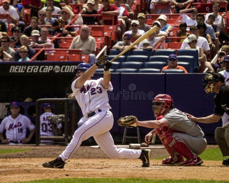 Jason Phillips, New York Mets, catcher. New York Mets catcher Jason Phillips. (Image is from a color slide stock images