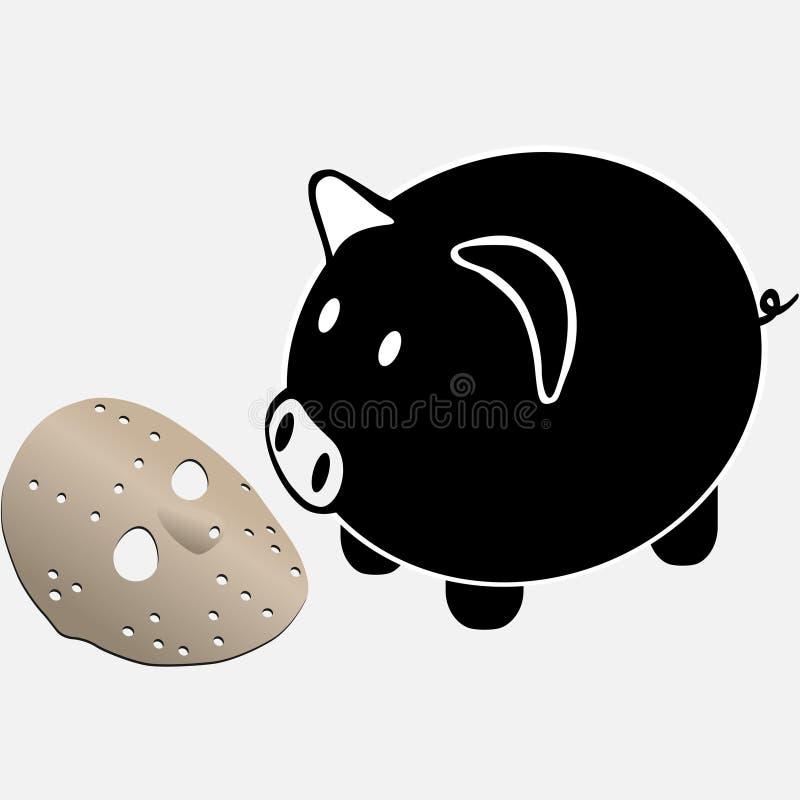 Jason pig royalty free stock photo