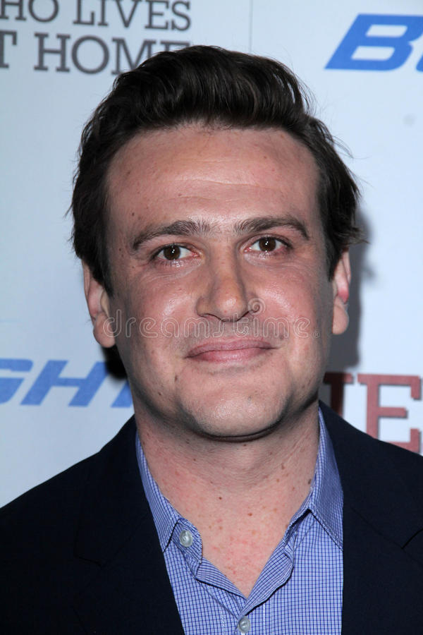 Jason Segal. At the Jeff Who Lives at Home Film Premiere, Directors Guild of America, Los Angeles, CA 03-07-12 royalty free stock photo