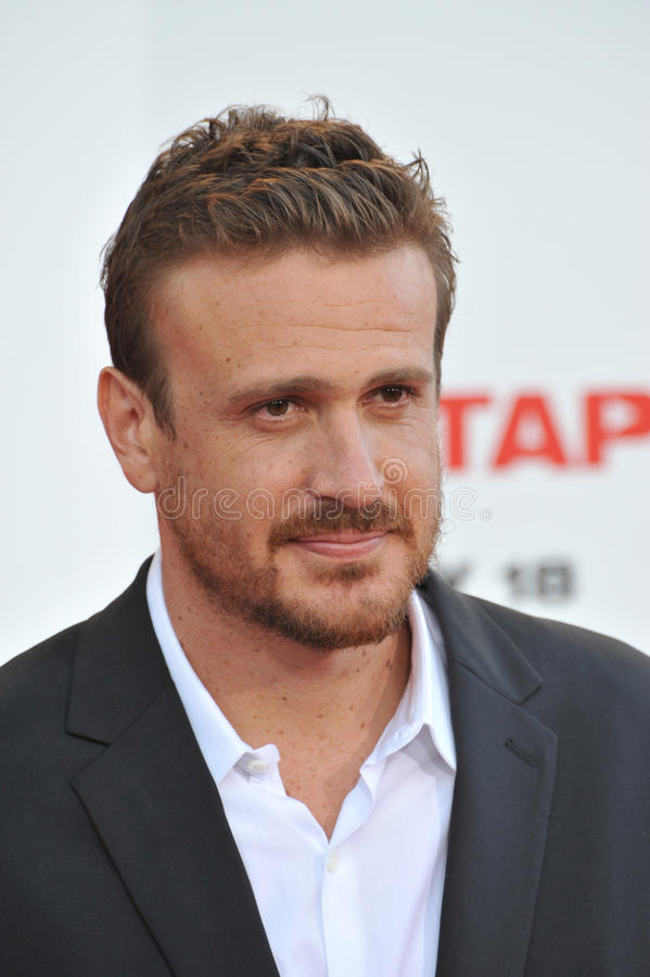 Jason Segel photographie stock libre de droits