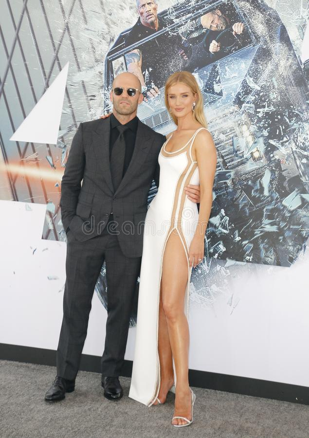 Jason Statham huntington i Rosa obrazy stock