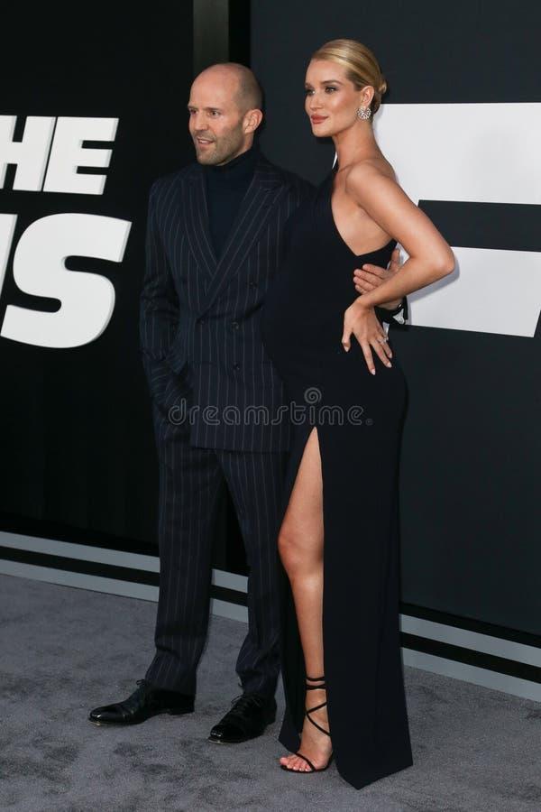 Jason Statham, Rosa huntington obraz royalty free