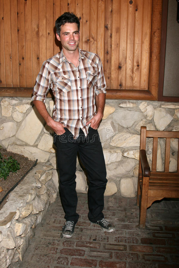 Jason Thompson. Arriving at the annual General Hospital Fan Club Luncheon at the Sportsman's Lodge in Studio City, CA on July 12, 2008 royalty free stock photography