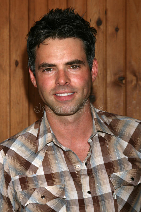 Jason Thompson. Arriving at the annual General Hospital Fan Club Luncheon at the Sportsman's Lodge in Studio City, CA on July 12, 2008 royalty free stock photo