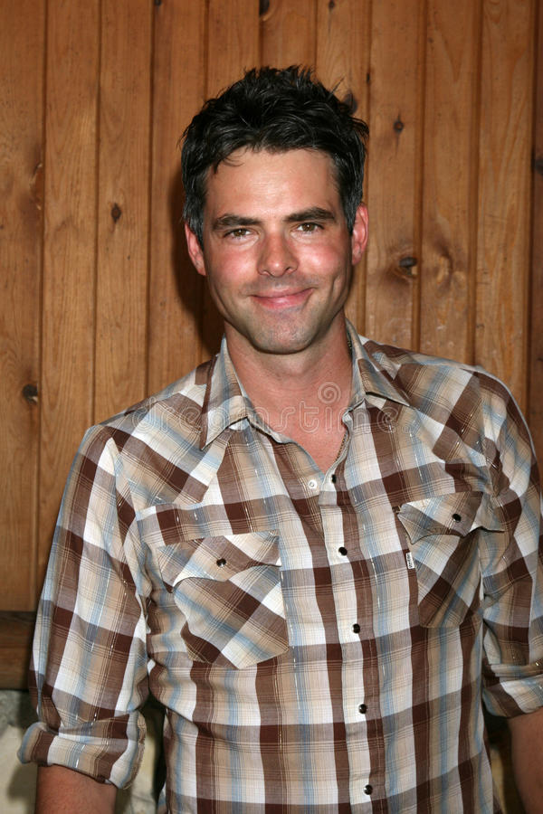 Jason Thompson. Arriving at the annual General Hospital Fan Club Luncheon at the Sportsman's Lodge in Studio City, CA on July 12, 2008 stock image