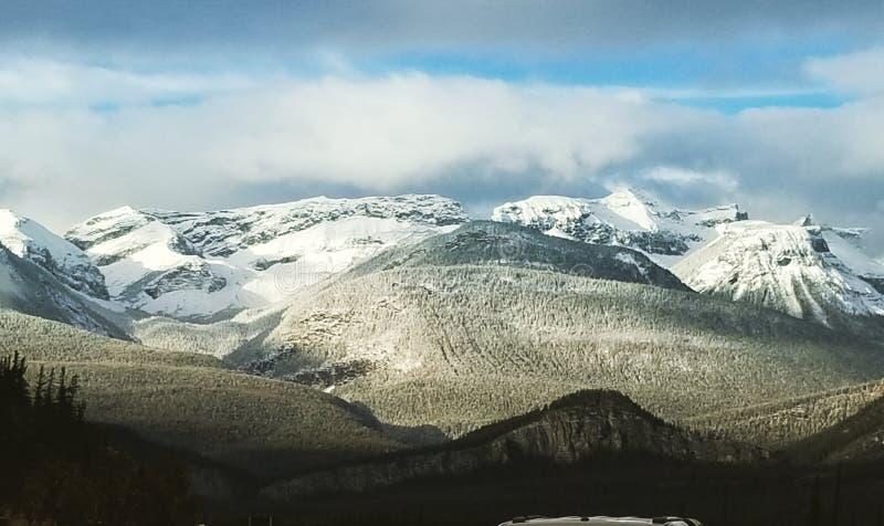 Jasper Mountains immagine stock