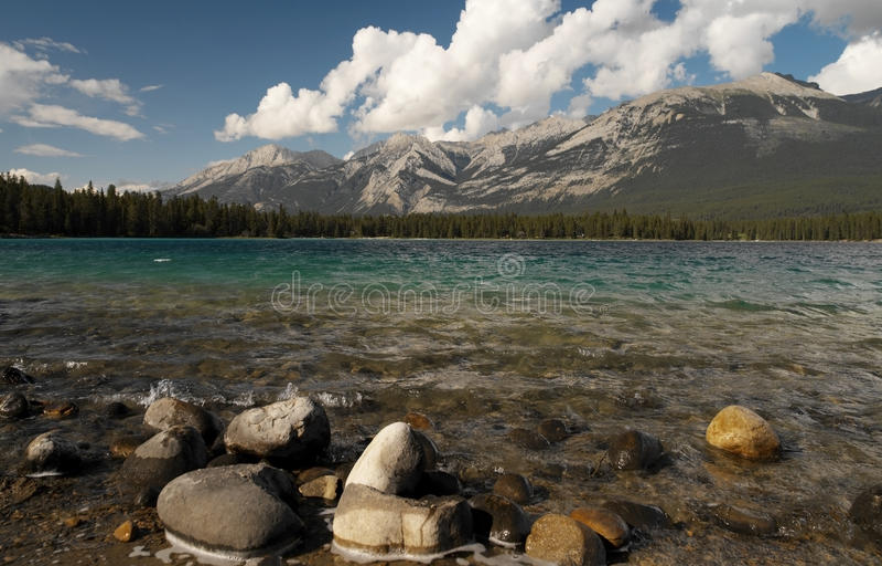 Jasper National Park in Canada stock photo