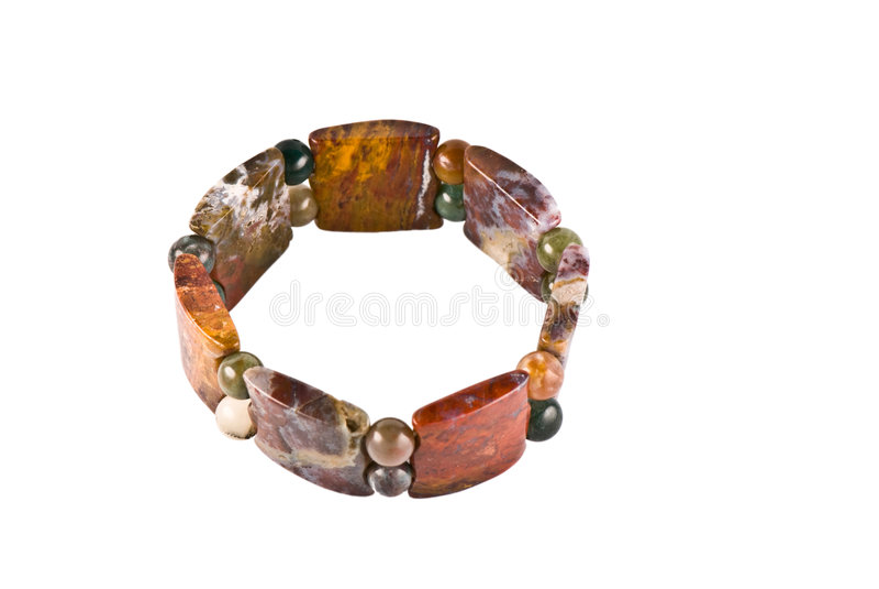 Jaspis-Armband lizenzfreie stockfotos