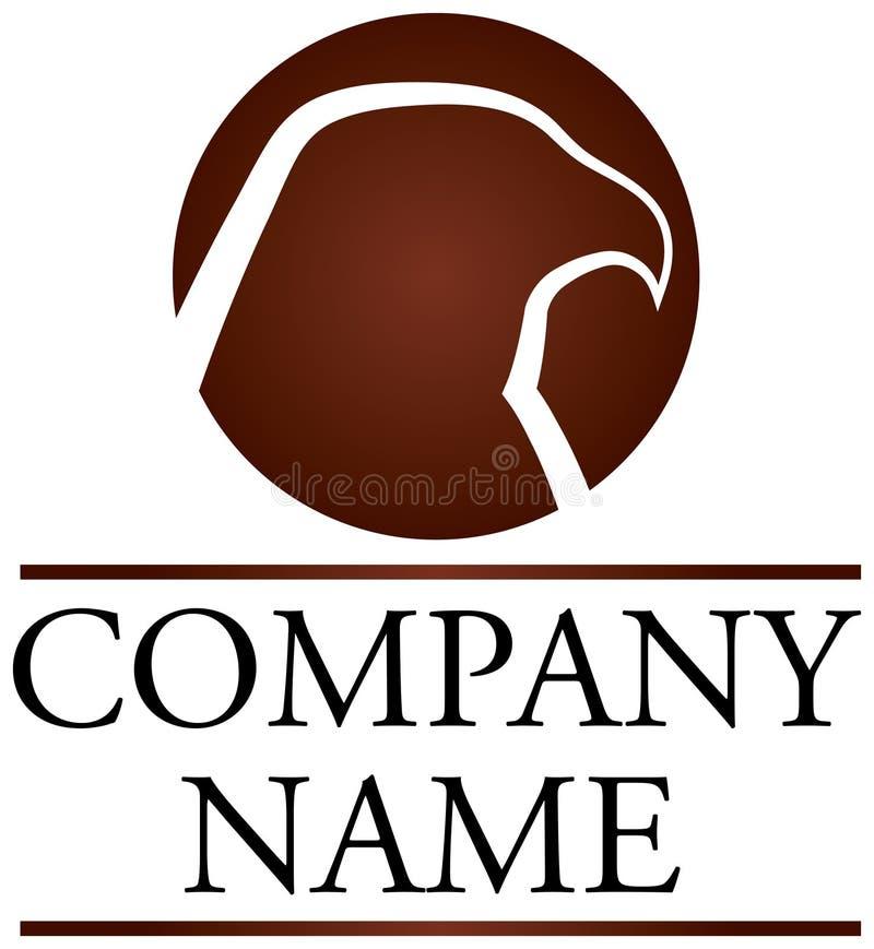 jastrzębia logo ilustracja wektor