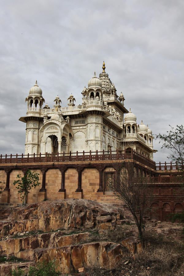 Jaswant Thada cenotaph royalty free stock photography