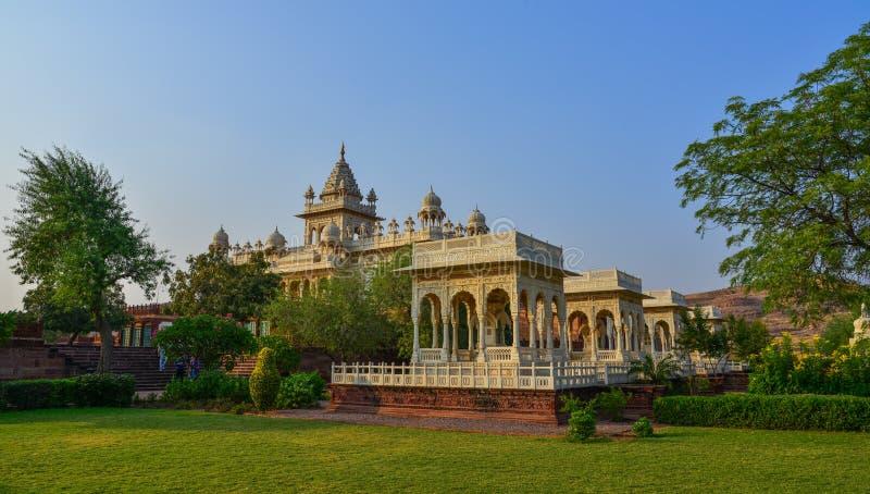 Jaswant Thada en Jodhpur, la India imagen de archivo libre de regalías