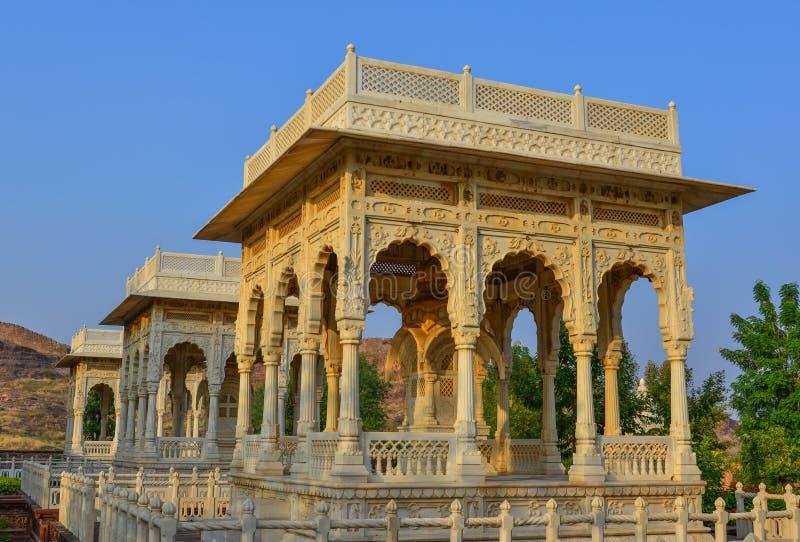 Jaswant Thada en Jodhpur, la India fotos de archivo libres de regalías