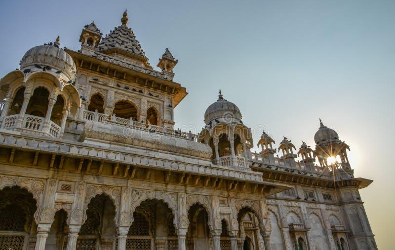 Jaswant Thada en Jodhpur, la India imágenes de archivo libres de regalías