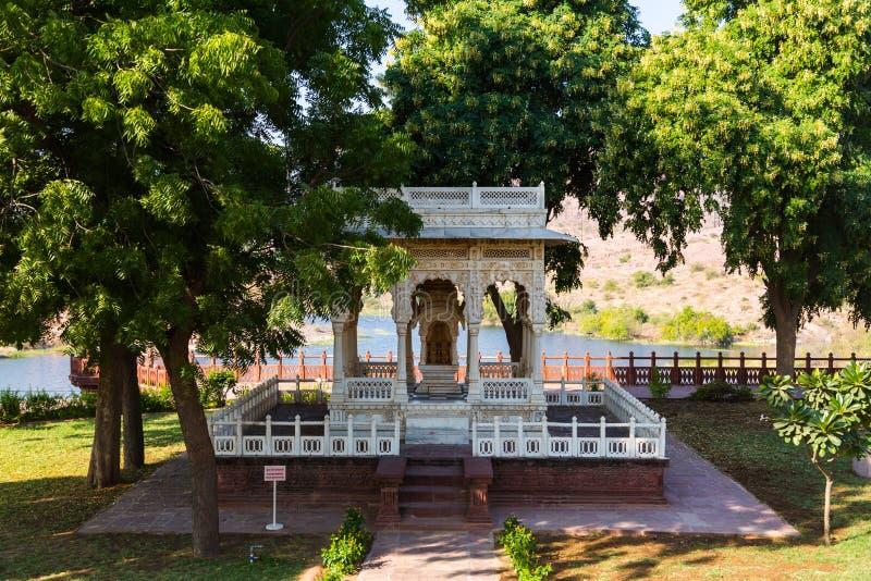 Jaswant Thada India royalty-vrije stock foto's