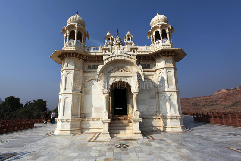 Jaswant Thada in Jodhpur - Rajasthan, India stock photos