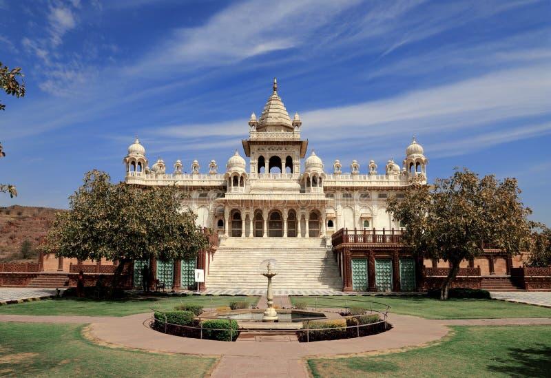 Jaswant Thada in Jodhpur, Rajasthan, India stock foto's