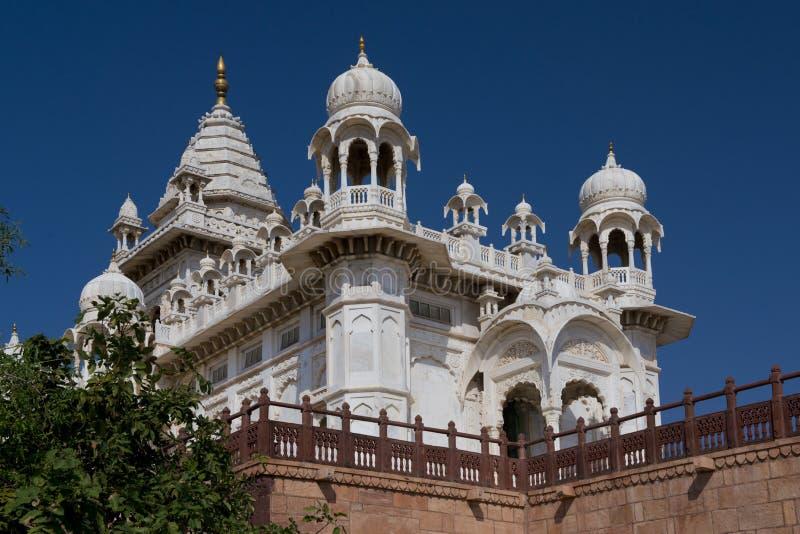 Jaswant Thada, Mausoleum in Jodhpur lizenzfreie stockfotos