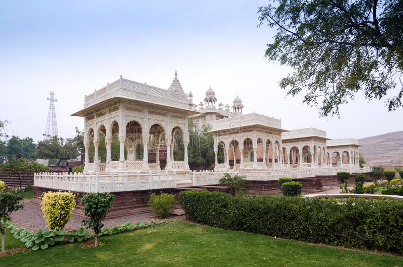 Jaswant Thada rajah pomnik, Jodhpur fotografia stock