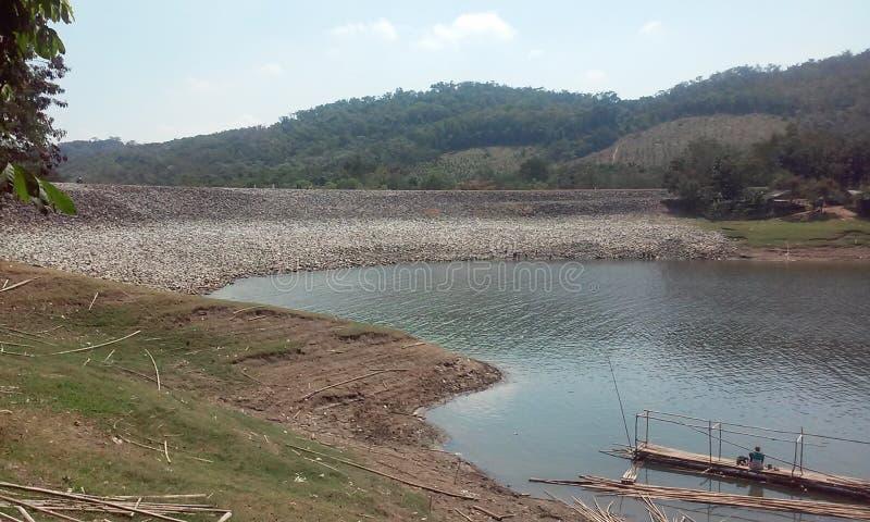 Jatiluhur jezioro zdjęcie stock