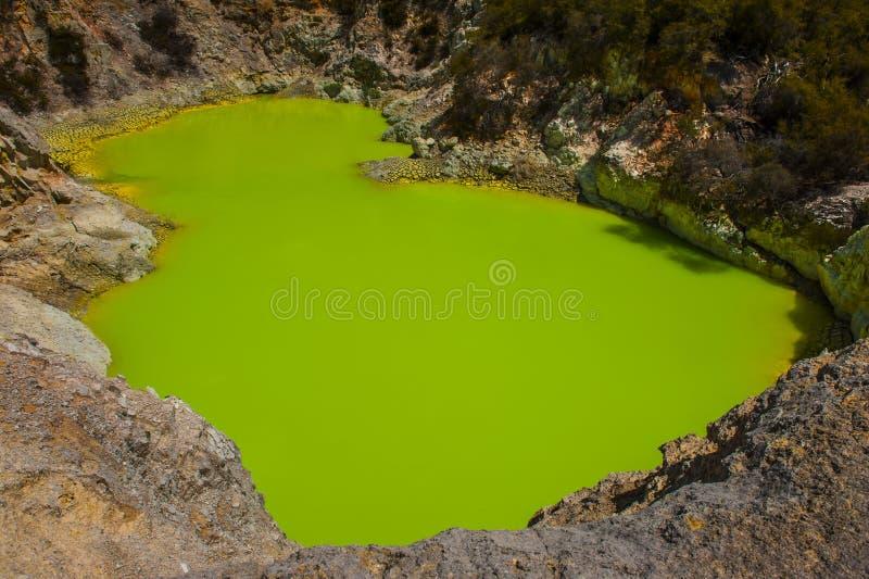 Jatki Krater jezioro zdjęcia royalty free