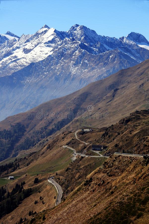Download Jaufenpass / Passo Di Monte Giovo (south Side) Stock Image - Image: 22136129
