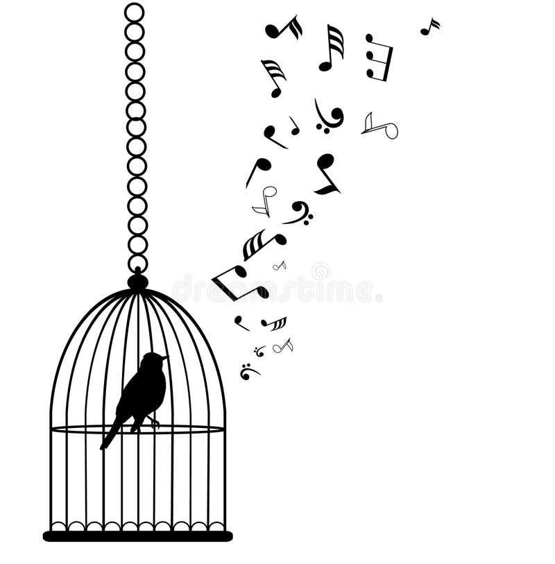 Jaula de pájaros libre illustration