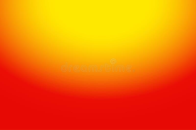 Jaune coloré de résumé au fond orange de gradient pour votre conception graphique images libres de droits