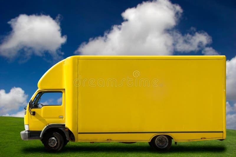 jaune de camion photographie stock