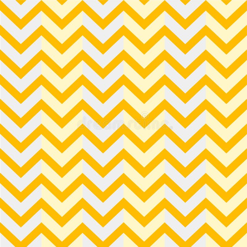 Jaune de fond de zigzag de modèle d'illustration illustration stock