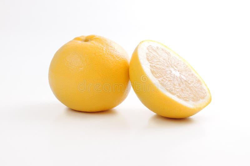jaune de pamplemousse photographie stock libre de droits