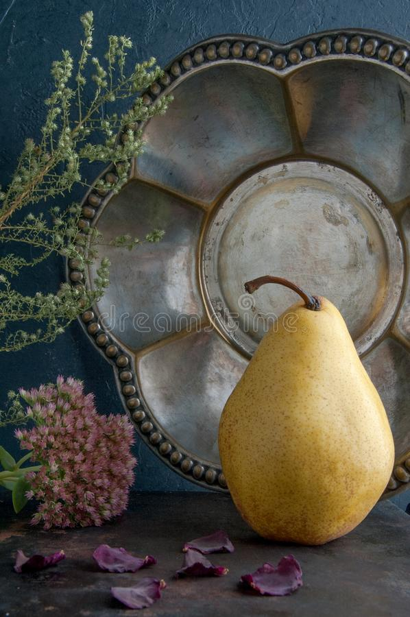 jaune noir de poire de fond photo libre de droits