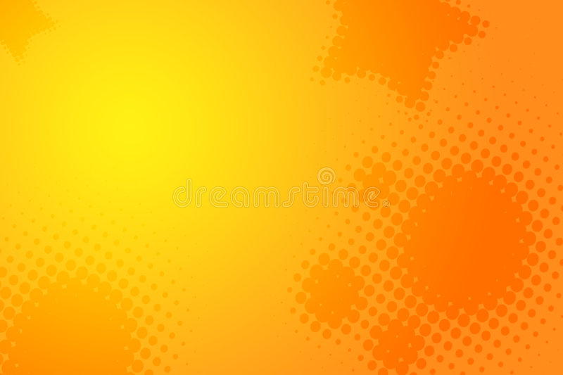 jaune orange de fond abstrait illustration stock