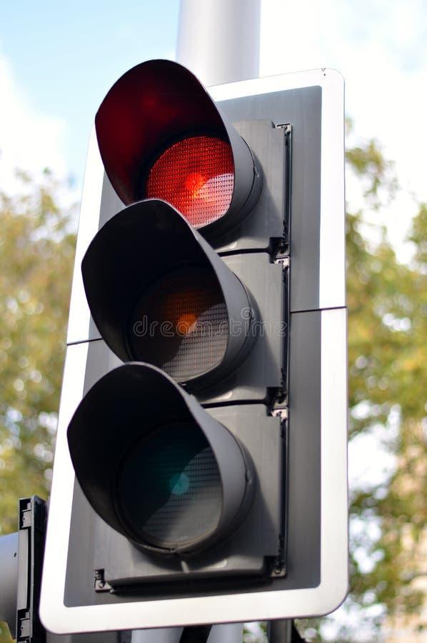 jaune rouge de circulation de feux verts photo libre de droits
