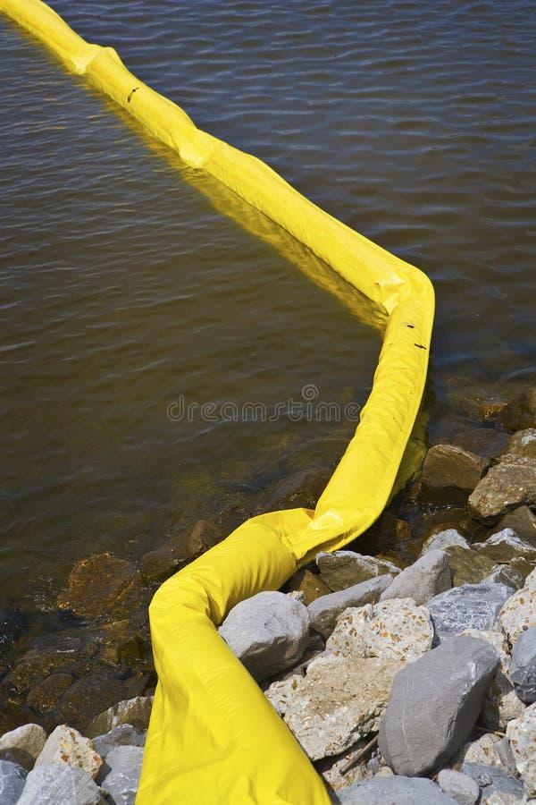 Jaunissez l'emballement pétrolier, côte de Golfe photo stock