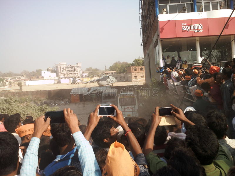 Jaunpur, la India imagen de archivo
