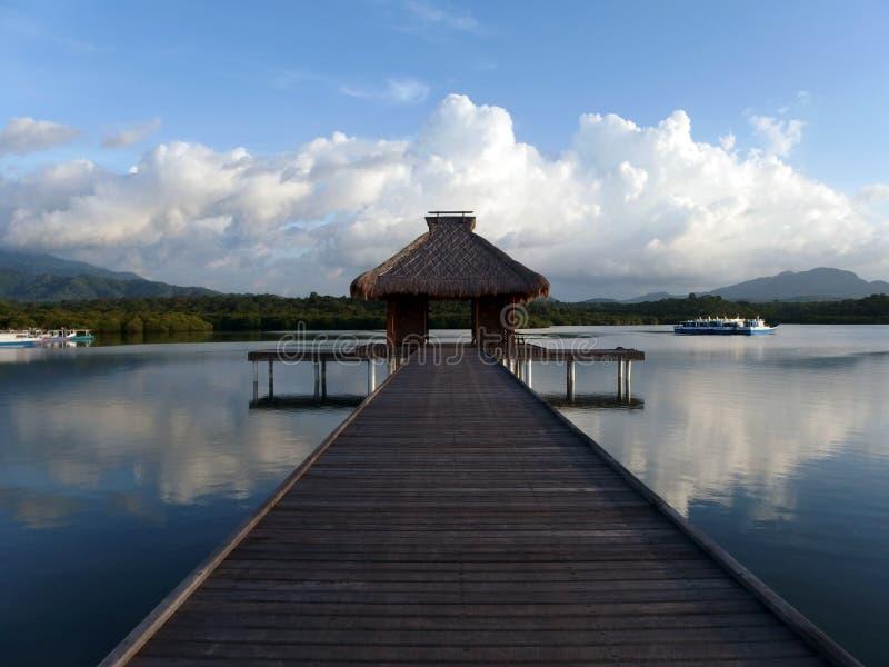 Java的巴厘岛船坞 库存照片