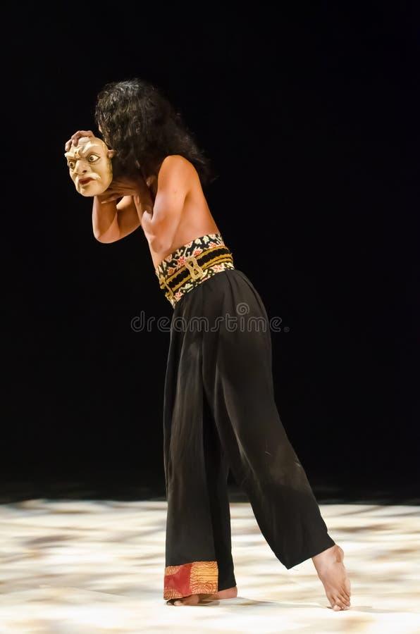 Download Java dancer and his mask stock image. Image of dancer - 26966389