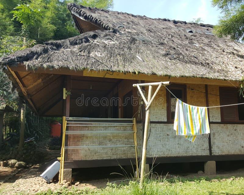 Java House ad ovest tradizionale fotografia stock libera da diritti