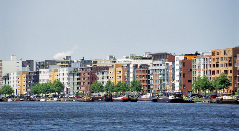 Java-Insel Amsterdam lizenzfreie stockfotografie