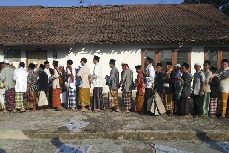 JAVANESE ÉTNICO DE INDONESIA fotografía de archivo libre de regalías