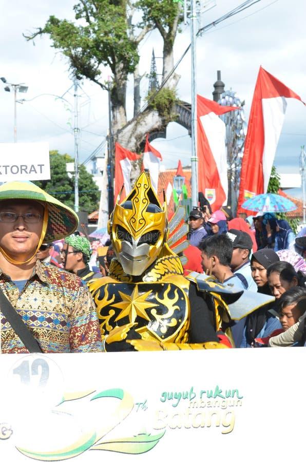 Javanese konster och kultur st?tar i Batang royaltyfria bilder
