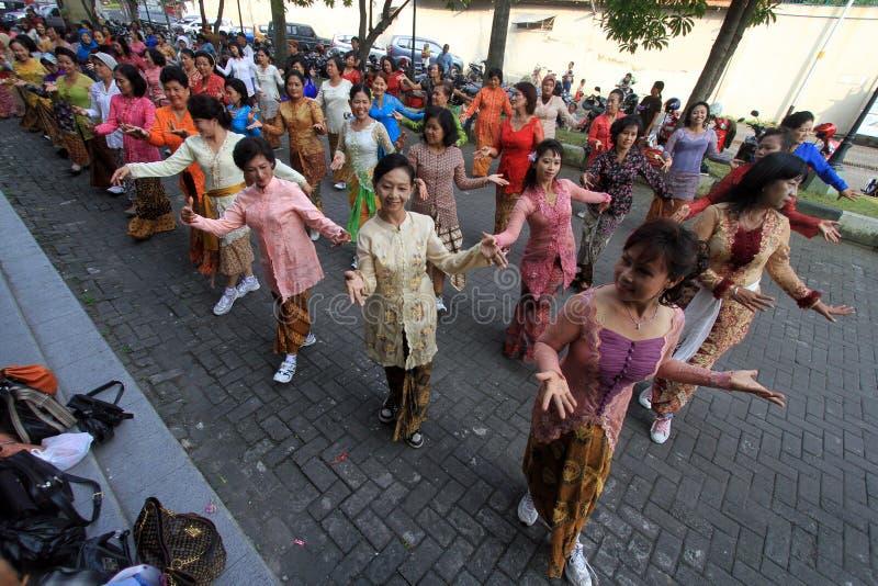 Javanese tradicional fotografia de stock royalty free