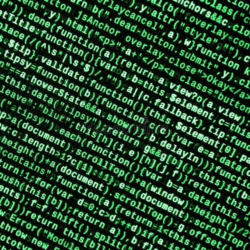 Javascriptfunktionen, Variablen, Gegenstände Überwachen Sie Nahaufnahme des Funktionsquellcodes IT-Fachmann-Arbeitsplatz stockfotos