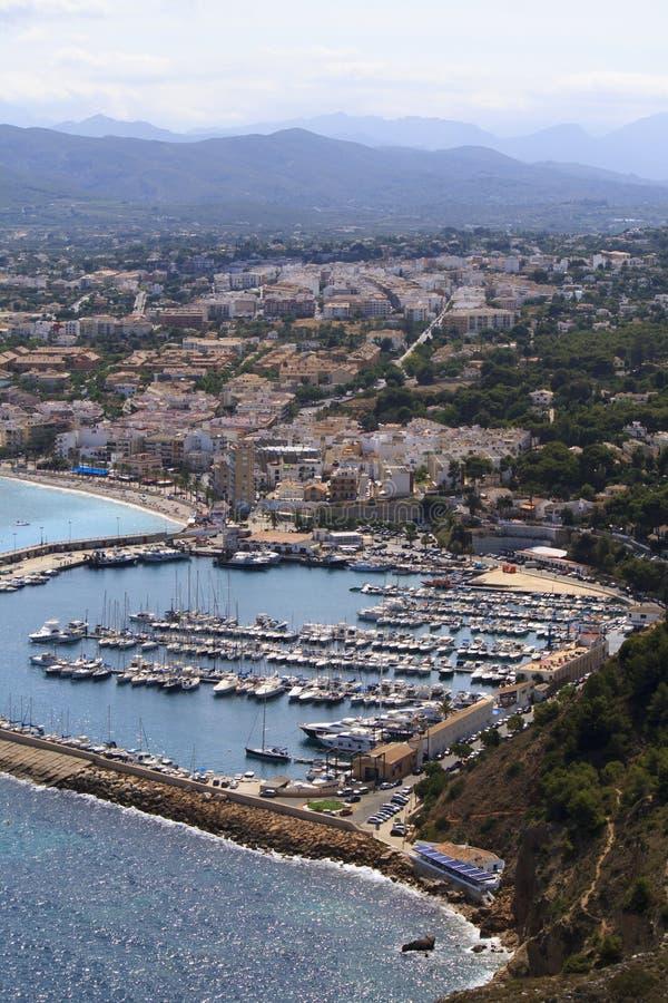 Javea, Alicante foto de stock royalty free