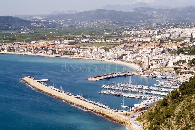 Javea - Alicante - Hiszpania fotografia royalty free