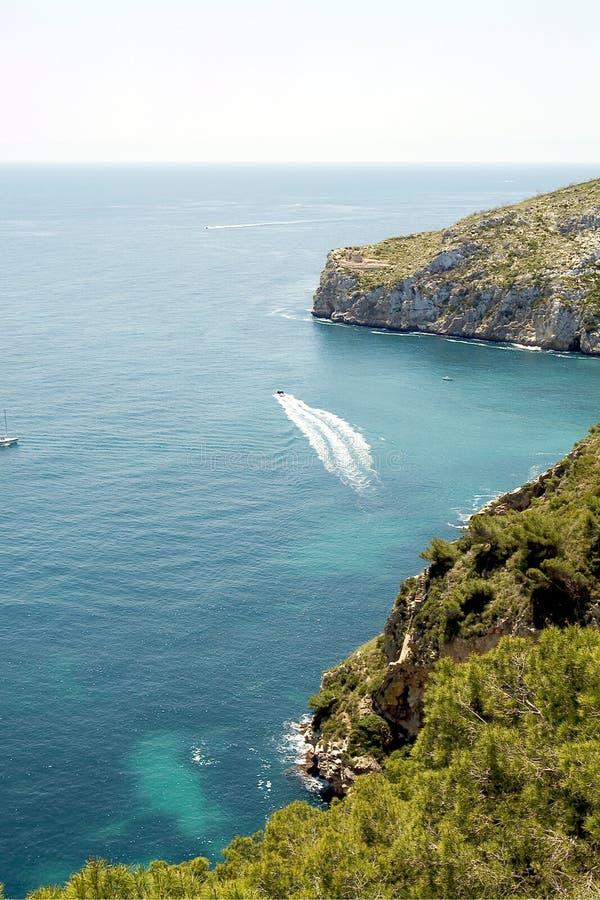 Javea, Costa Blanca. Alicante, Spanje royalty-vrije stock fotografie