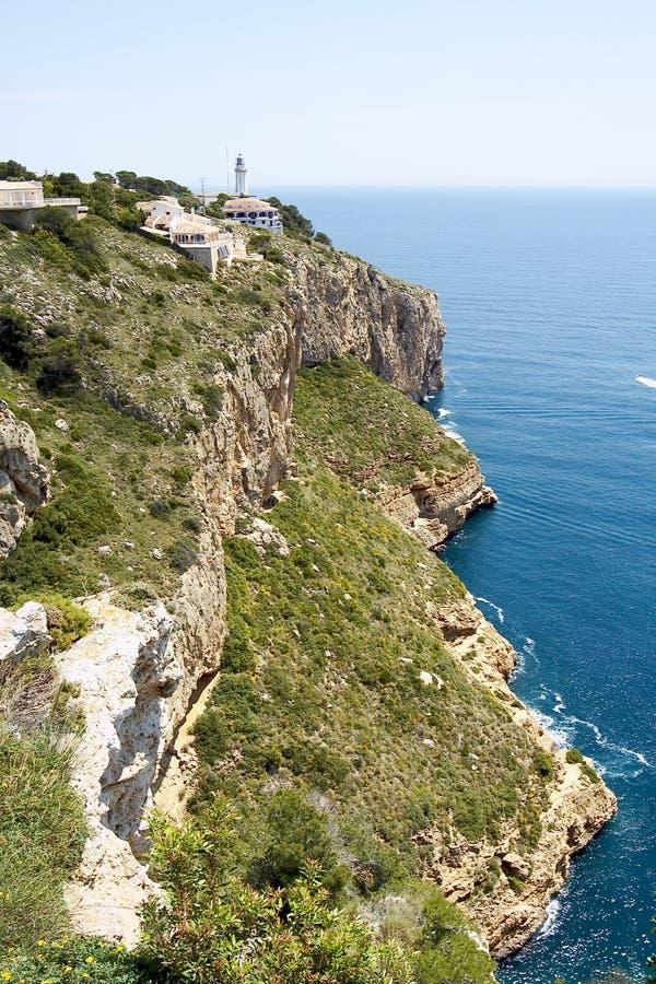 Javea, de provincie van Alicante, Spanje stock afbeeldingen