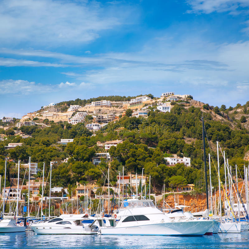 Download Javea Xabia Port Marina Vacation Destination In Alicante Stock Photo - Image: 37210608